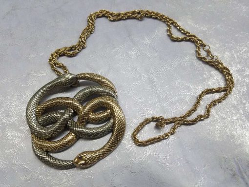 Neverending Story Auryn Pendant Metal Brass Cast Necklace Atreyu Bastion Falkor Falcor Do As You Wish Pendant 18