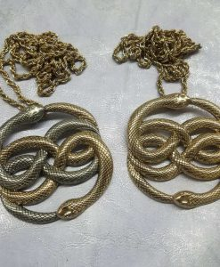 Neverending Story Auryn Pendant Metal Brass Cast Necklace Atreyu Bastion Falkor Falcor Do As You Wish Pendant 21