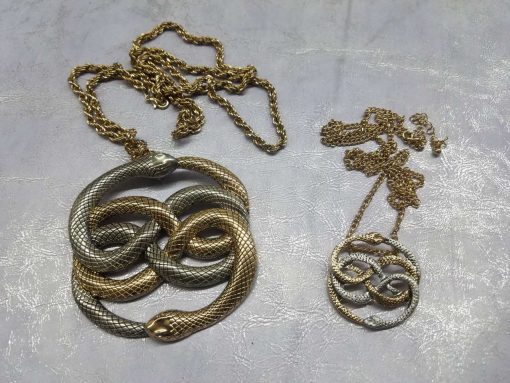 Neverending Story Auryn Pendant Metal Brass Cast Necklace Atreyu Bastion Falkor Falcor Do As You Wish Pendant 25