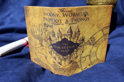 Marauder's Map Harry Potter Hogwarts Marauders eReader Kindle iPad Tablet Cover Custom Case Sketchbook Journal 2-1280-1280