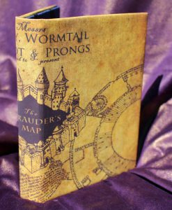Marauder's Map Harry Potter Hogwarts Marauders eReader Kindle iPad Tablet Cover Custom Case Sketchbook Journal 49-1280-1280