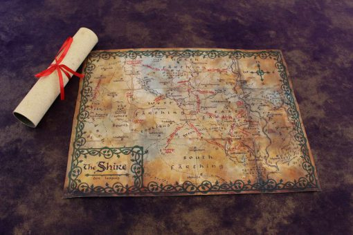 Geekify Custom Tabletop Cloth Map Printing RPG Service Canvas Gaming LARP Roleplaying Game Map Print Silk 144-1280