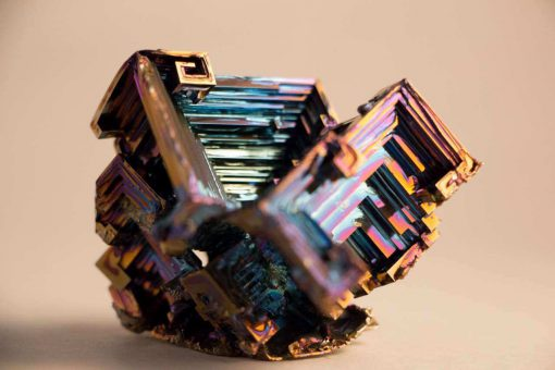 Handgrown Bismuth Crystals - Unique Lab Grown Bismuth