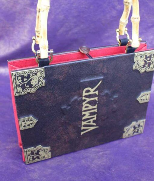 Buffy Vampyr Slayers Handbook Hand Bag - Custom Book Replica / Clutch / Purse / Satchel (Inspired by Buffy the Vampire Slayer)