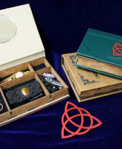 Charmed Book of Shadows Jewelry Box - Hollow Book Replica Box