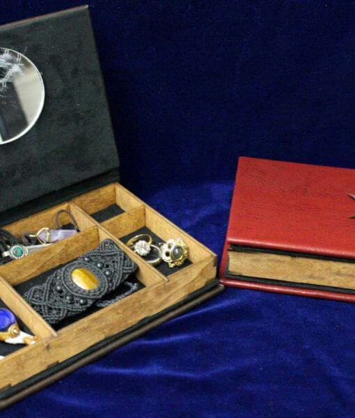 Hydra Soviet Code Book Jewelry Box Replica - Civil War Winter Soldier