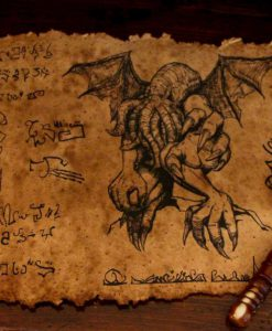 Ancient Cthulhu Scroll (Lovecraft)