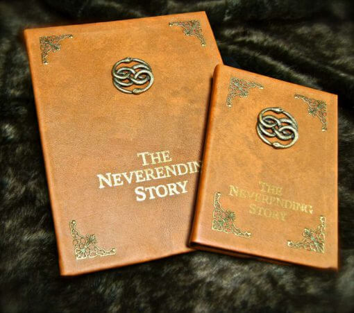 The Neverending Story Book Replica - Custom iPad / Tablet / eReader / Kindle Cover (Inspired by The Neverending Story)