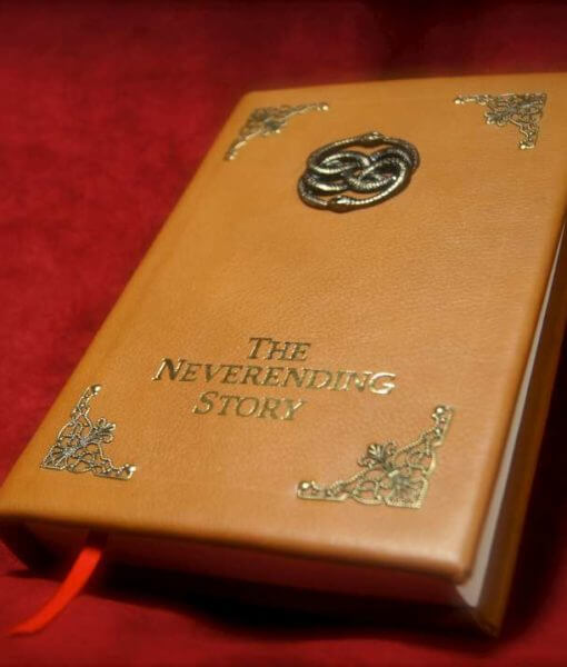 The Neverending Story - Leatherbound Book Replica