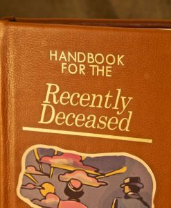 Beetlejuice Handbook for the Recently Deceased iPad / Kindle / eReader Cover