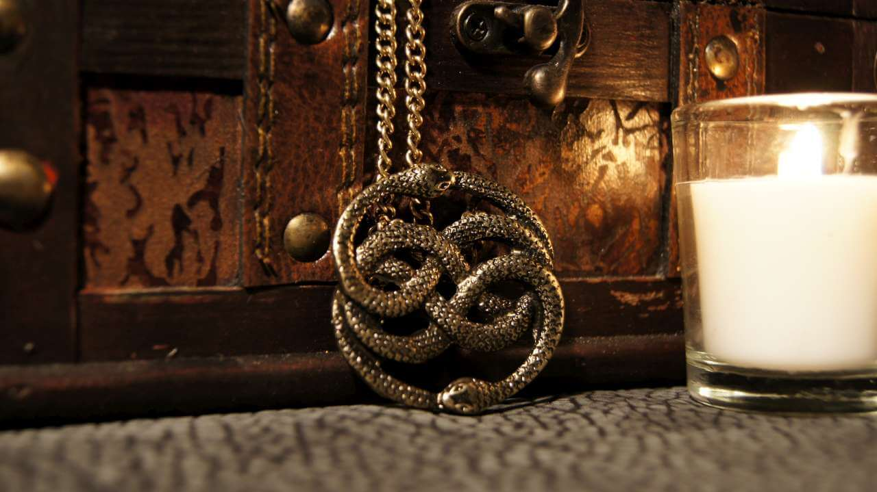 Neverending story gold auryn pendant geekify inc neverending story gold auryn pendant mozeypictures Choice Image
