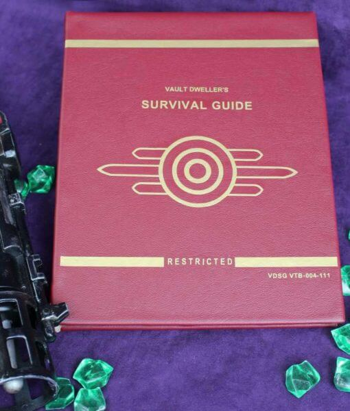 Vault Dwellers Survival Guide - Kindle / iPad / eReader / Tablet Book Replica Cover (Inspired by Fallout)