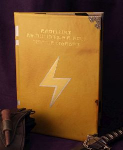 Fire Emblem Super Smash Bros SSB Thunder Tome Book / Kindle / iPad / Tablet Cover / Journal