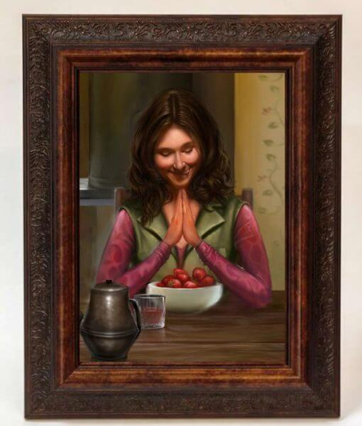 Firefly Kaylee and Strawberries Poster & Print