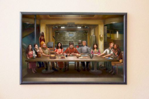 Firefly Last Supper Poster & Print