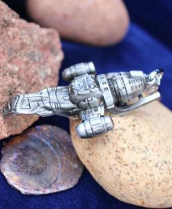 Firefly Serenity Space Ship Keychain