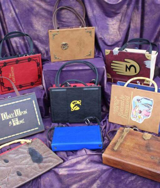 Custom Legendary Geek Book Replica Custom Bag / Clutch / Purse / Satchel / Handbag