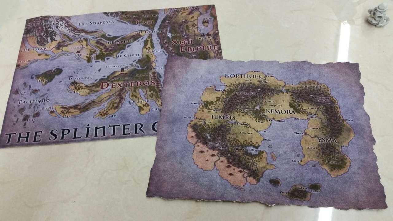 Custom Game Cloth Map Rpg Printing Service Geekify Inc