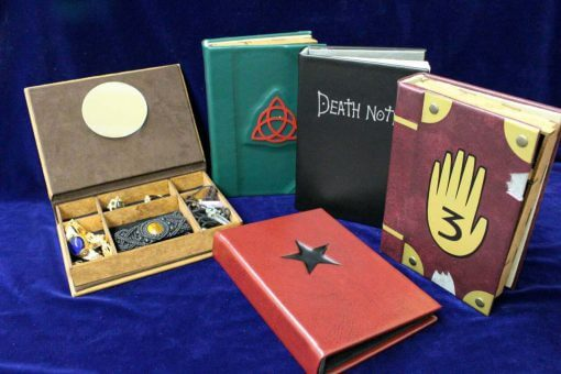 Legendary Book Jewelry Boxes - Custom Wood Jewelry Box
