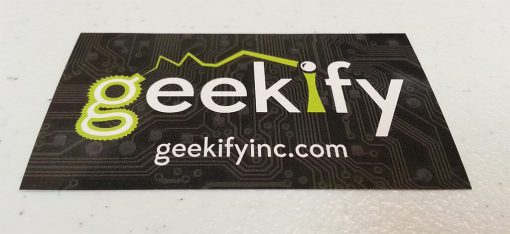 Geekify Sticker - Get One Free