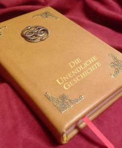 Leder Gebundenes Die Unendliche Geschichte Buch Replica - Leatherbound Prop Replica (inspiriert von die unendliche Geschichte)