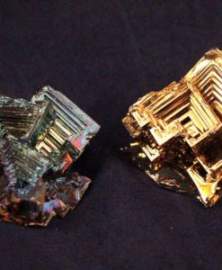 Gold Bismuth Crystals - Unique Rare Gold Colored Lab Grown Bismuth