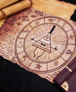 Gravity Falls Inspired - Magical Bill Cipher Scroll