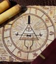 Gravity Falls Inspired – Magical Bill Cipher Scroll 2