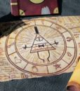 Gravity Falls Inspired – Magical Bill Cipher Scroll 5