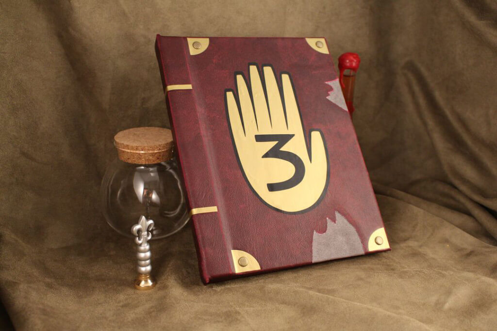 Gravity Falls Book / Kindle / iPad / Tablet Cover ...