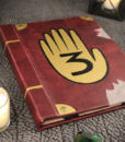 Gravity Falls Book / Kindle / iPad / Tablet Cover / Journal Book 3 2