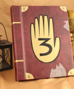 Gravity Falls Journal 3 Replica Jewelry Box - Hollow Book Replica