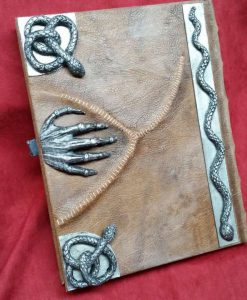 Hocus Pocus Spellbook Replica - Manual of Witchcraft and Alchemy Blank Book / Journal (Inspired by Hocus Pocus)