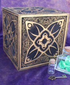 Horadric Cube Jewelry Box (Inspired by Diablo) - Treasure Chest Replica
