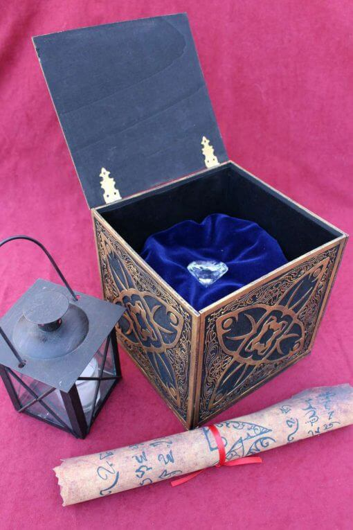 Horadric Cube Jewelry Box (Inspired by Diablo) - Treasure Chest Replica