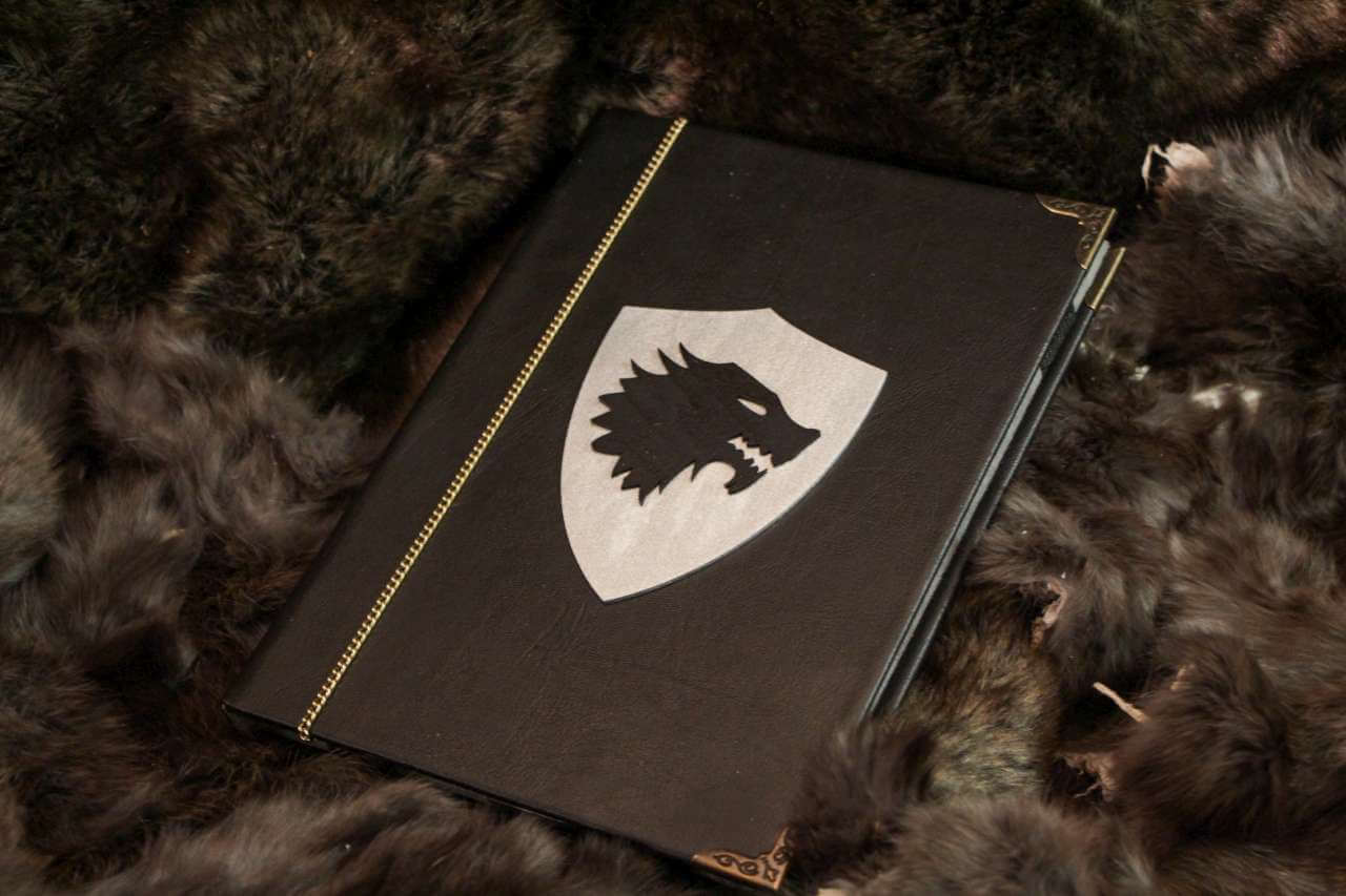 House Stark Cover   Game Of Thrones EReader / IPad / Tablet Cover