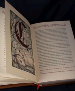 La Storia Infinita Libro Rilegato in Pelle - Neverending Story Leatherbound Book