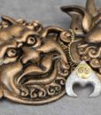 The Labyrinth Movie Pendant of Goblin King Jareth – Dave Bowie Jareth's Necklace Replica 7