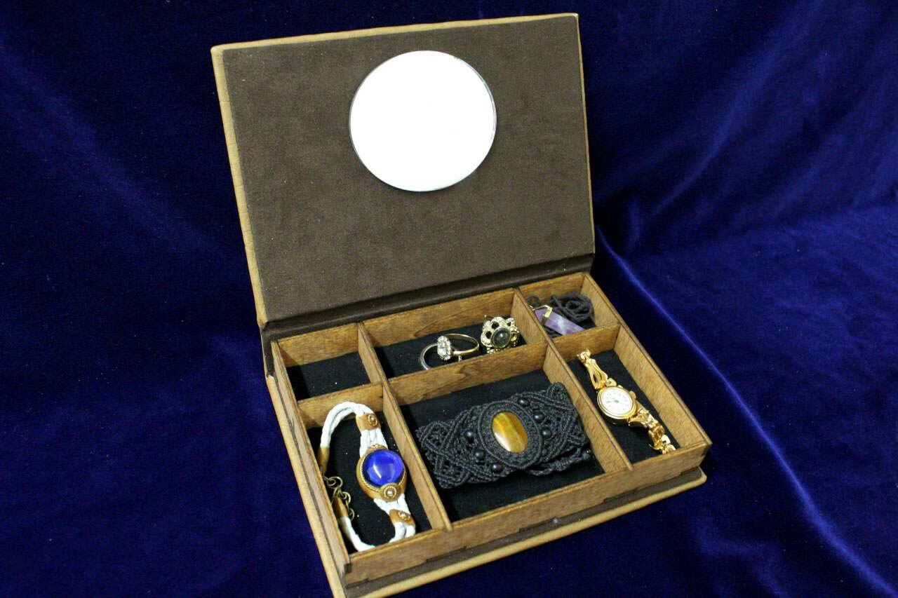 lord of the rings jewelry box replica book of