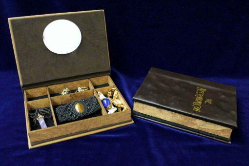 Necronomicon Jewelry Box Replica - HP Lovecraft Hollow Book