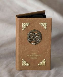 Neverending Story Phone Case - Leather Cover for iPhone / Smartphones