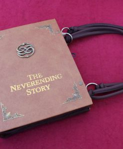 The Neverending Story Hand Bag - Custom Book Auryn Replica / Clutch / Purse / Satchel