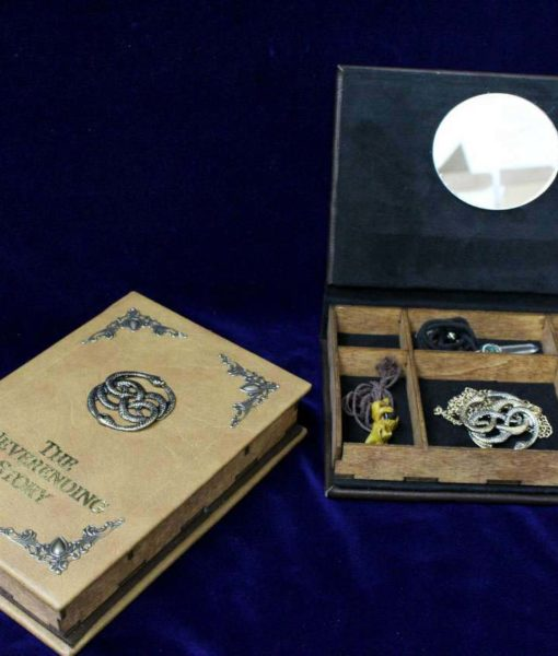The Neverending Story Jewelry Box - Hollow Book Replica Box
