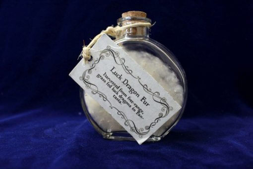 Bottle of Luck Dragon Fur - Inspired by The Neverending Story