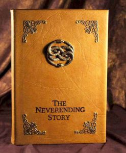 The Neverending Story DVD Movie - Leather Book Replica DVD Case