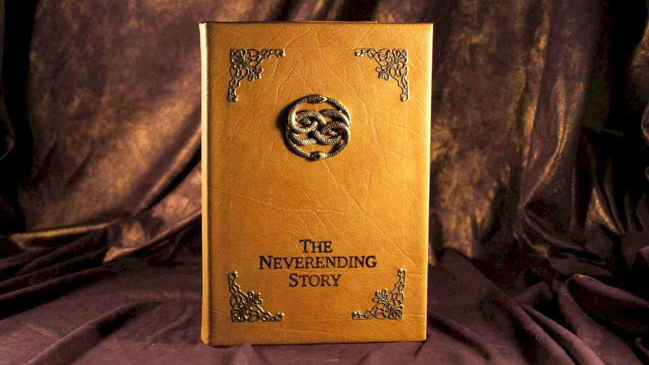 The Neverending Story Dvd Movie Leather Book Replica Dvd