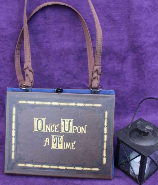 Once Upon A Time Story Book Hand Bag - Custom Book Replica / Clutch / Purse / Satchel (Inspired by Once Upon A Time)