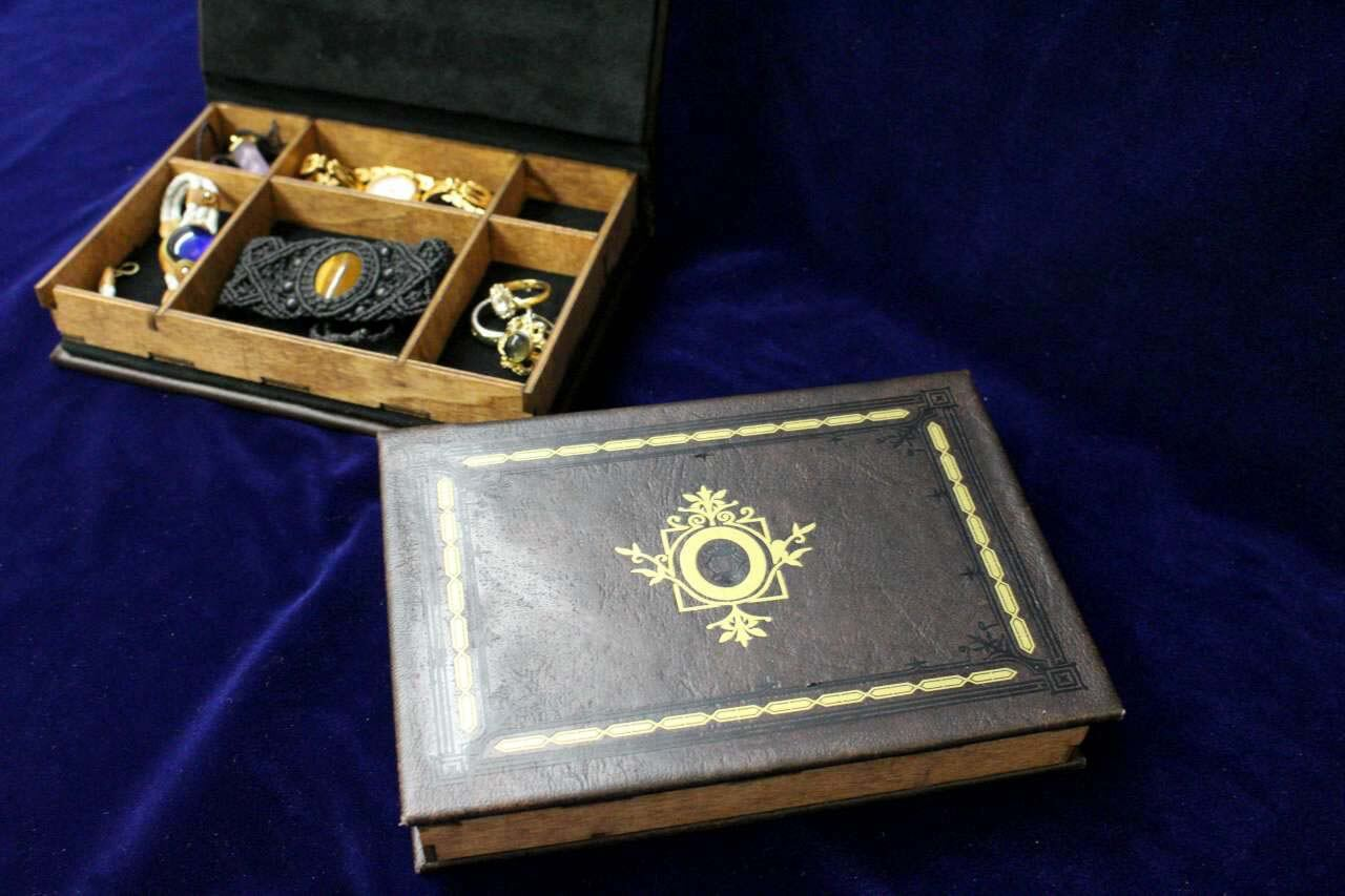 Once Upon A Time Jewelry Box Replica - Hollow Book Box