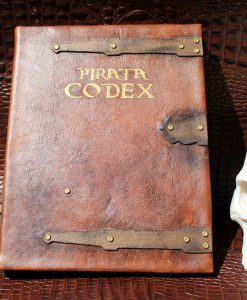 The Pirate Code (Pirata Codex) Pirates of the Caribbean Book Replica / Kindle / iPad / Tablet Cover / Journal