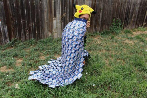 Pokemon Cape - Energy Card Cloak Inspired by Pokemon Go